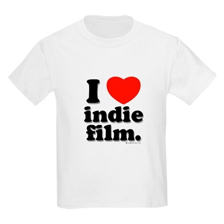 I Love Indie Film Kids Light T-Shirt