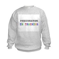 Procurator In Training Kids Sweatshirt