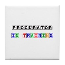 Procurator In Training Tile Coaster