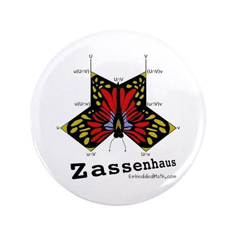 "Zassenhaus - 3.5"" Button (100 pack)"