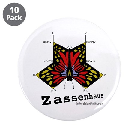 "Zassenhaus - 3.5"" Button (10 pack)"