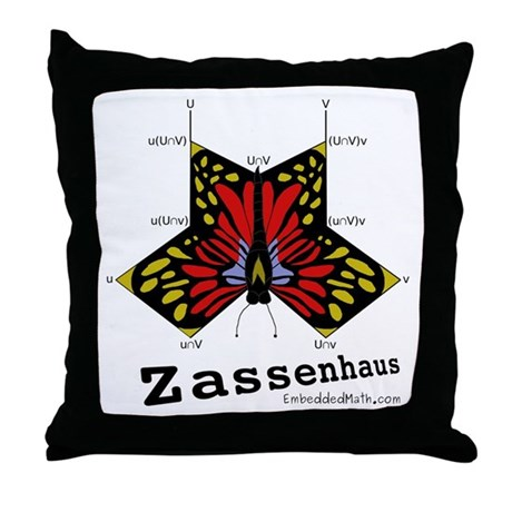 Zassenhaus - Throw Pillow