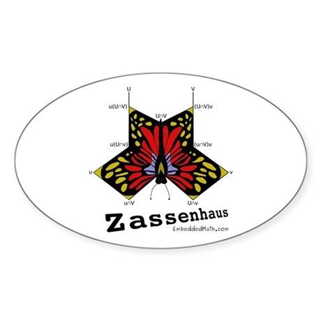 Zassenhaus - Oval Sticker