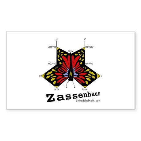 Zassenhaus - Rectangle Sticker