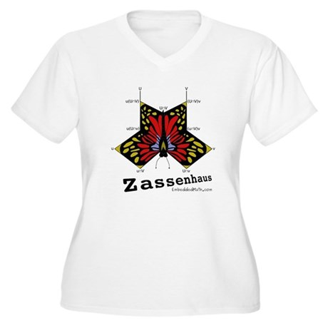 Zassenhaus - Women's Plus Size V-Neck T-Shirt