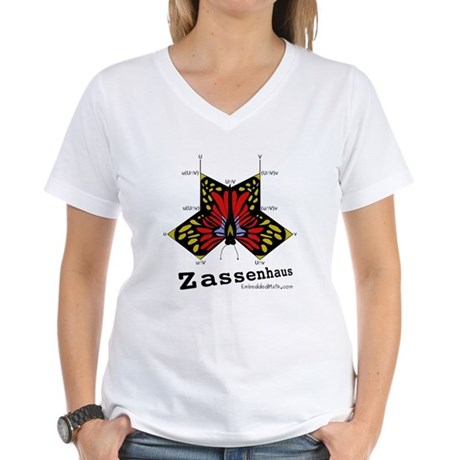 Zassenhaus - Women's V-Neck T-Shirt