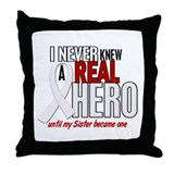 Never Knew A Hero 2 PEARL (Sister) Throw Pillow