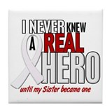 Never Knew A Hero 2 PEARL (Sister) Tile Coaster