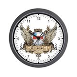 Soccer Chile Wall Clock