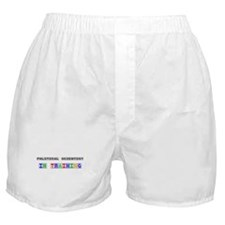 Political Scientist In Training Boxer Shorts