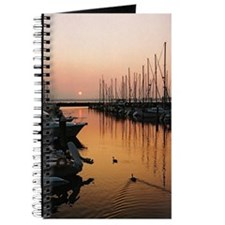 Into the Wilds Marina Sunset Journal