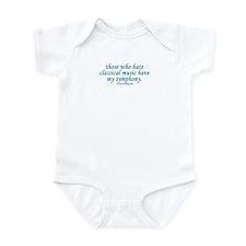 Symphony Infant Bodysuit