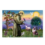 St Francis & Aussie Postcards (Package of 8)