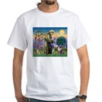 St Francis & Aussie White T-Shirt