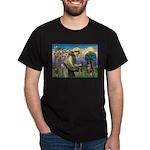 St Francis/ Aus Shep Dark T-Shirt