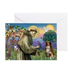 St Francis/ Aus Shep Greeting Card