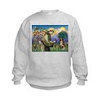 St Francis/ Aus Shep Kids Sweatshirt