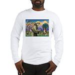 St Francis/ Aus Shep Long Sleeve T-Shirt