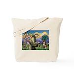 St Francis/ Aus Shep Tote Bag