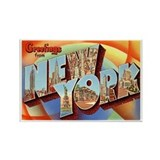 New York NY Rectangle Magnet (10 pack)