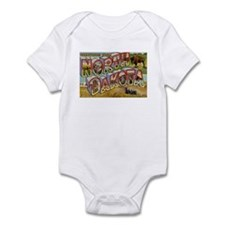 North Dakota ND Infant Bodysuit