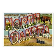 North Dakota ND Postcards (Package of 8)