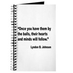Johnson Hearts and Minds Quote Journal