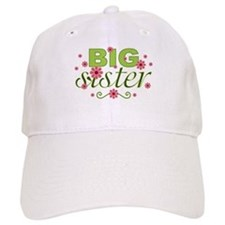 Big Sister Garden Flowers Baseball Cap