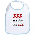 333 HALF EVIL Bib