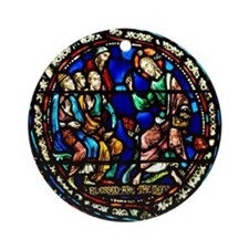 Sermon on the Mount Ornament (Round)