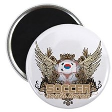 Soccer South Korea Magnet