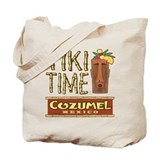 Cozumel Tiki Time - Tote or Beach Bag