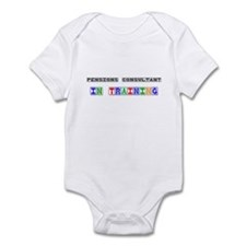 Pensions Consultant In Training Infant Bodysuit