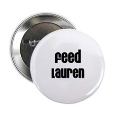"Feed Lauren 2.25"" Button (10 pack)"