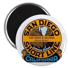 San Diego and Arizona Railway Magnet