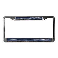 Desert License Plate Frame