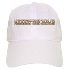manhattan beach (western) Baseball Cap