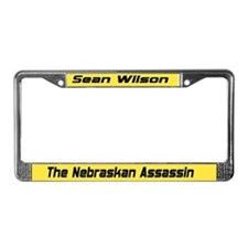 Funny Nebraskan License Plate Frame