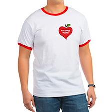 Heart Apple 4th Grade Rocks T
