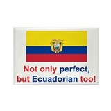 Perfect Ecuadorian Rectangle Magnet