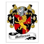 Matheson Family Crest Small Poster