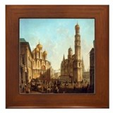 Cathedral Square Kremlin Framed Tile