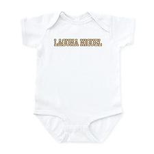 laguna niguel (western) Infant Bodysuit