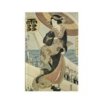 Japanese Woman Magnets (10 pack)