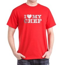 I Love My Chef T-Shirt