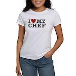I Love My Chef Women's T-Shirt