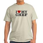 I Love My Chef Light T-Shirt