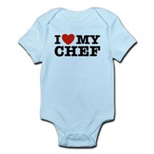 I Love My Chef Infant Bodysuit