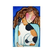 CAT LADY No. 27...Refrigerator Magnet (no text)