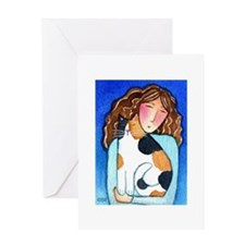 CAT LADY No. 27...Purr-fect Day Greeting Card